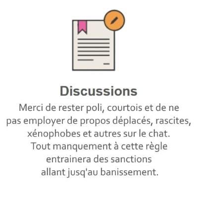 Règles du Tchat Gratuit de Rencontre-Handicap.eu